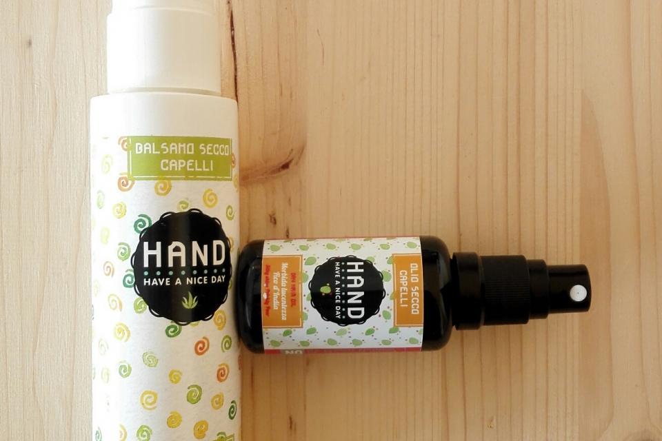 Nebu Postino Melodico  Cura e benessere dei capelli - balsamo e olio secco HAND